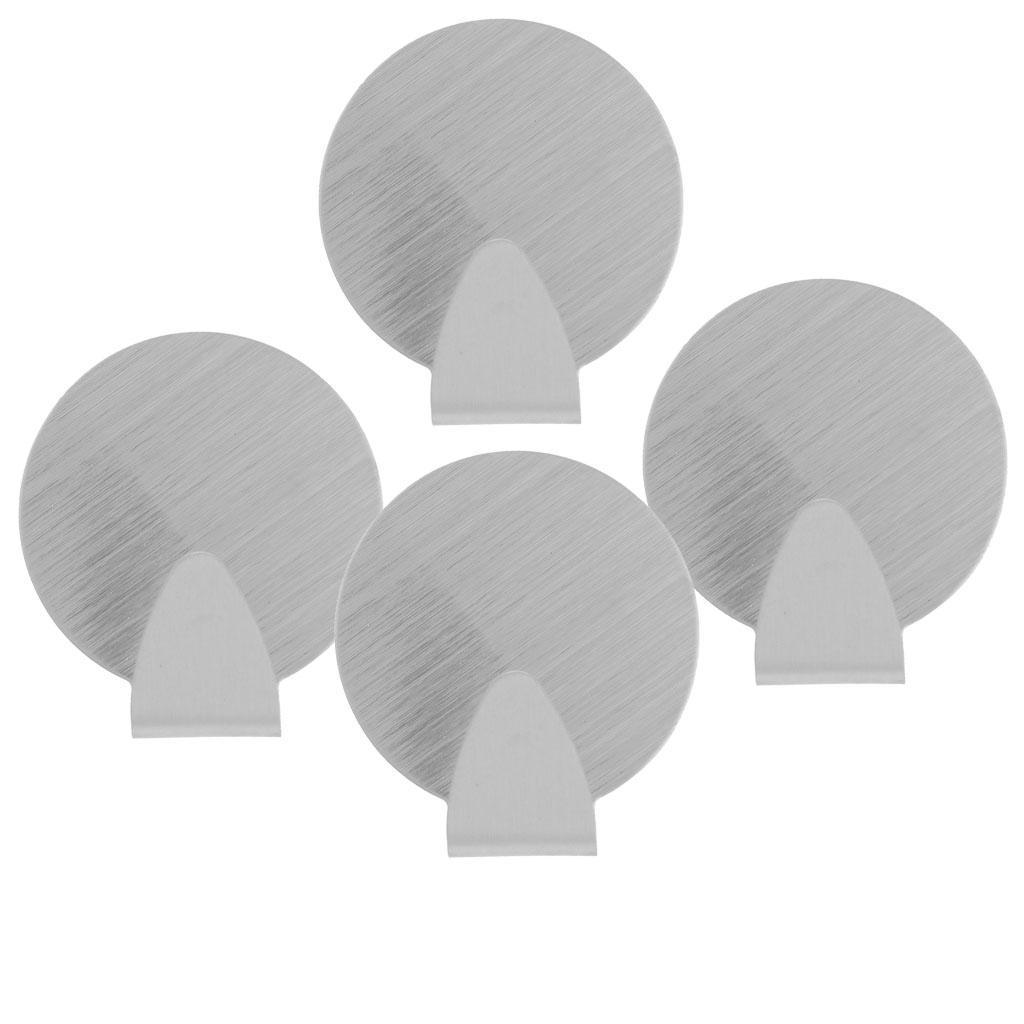 Gancio-Appendiabiti-Porta-Supporto-Attaco-a-Parete-per-Camera-da-Letto-Bagno miniatura 5
