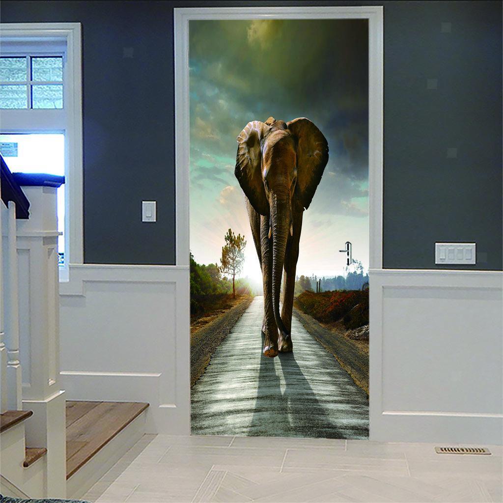 thumbnail 19 - 3D Self Adhesive Door Sticker DIY Decor Poster for Home Room Decor