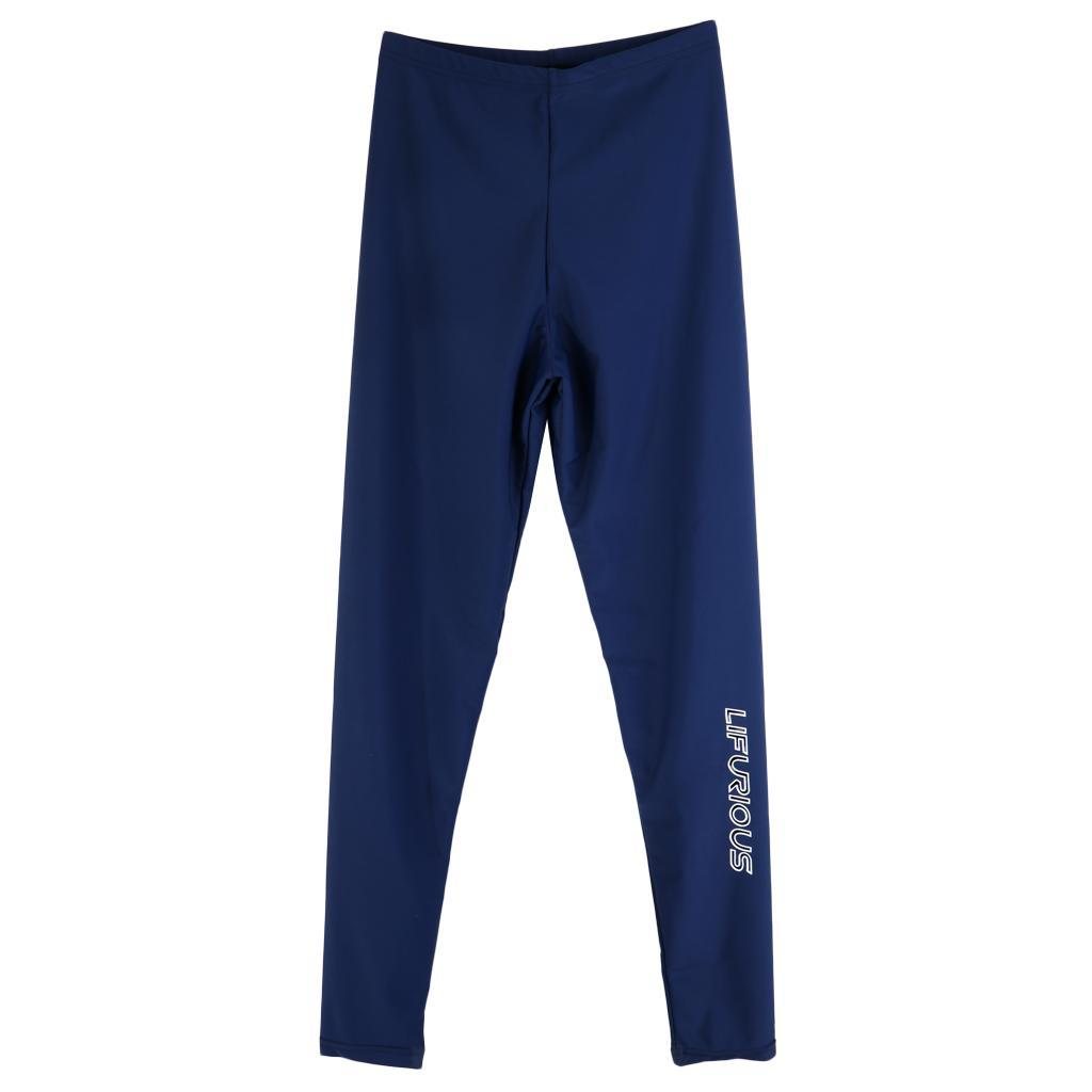 Perfeclan-Mens-Rash-Guard-Compression-Long-Sleeve-Swimwear-UV-Protection thumbnail 4