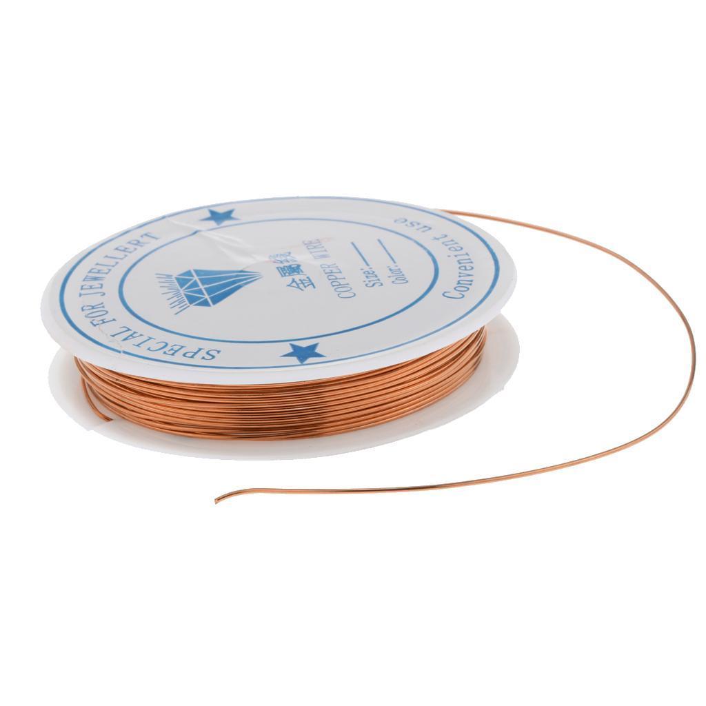 miniature 4 - Fil de cuivre pour la fabrication de bijoux Artisanat bricolage pour le fil