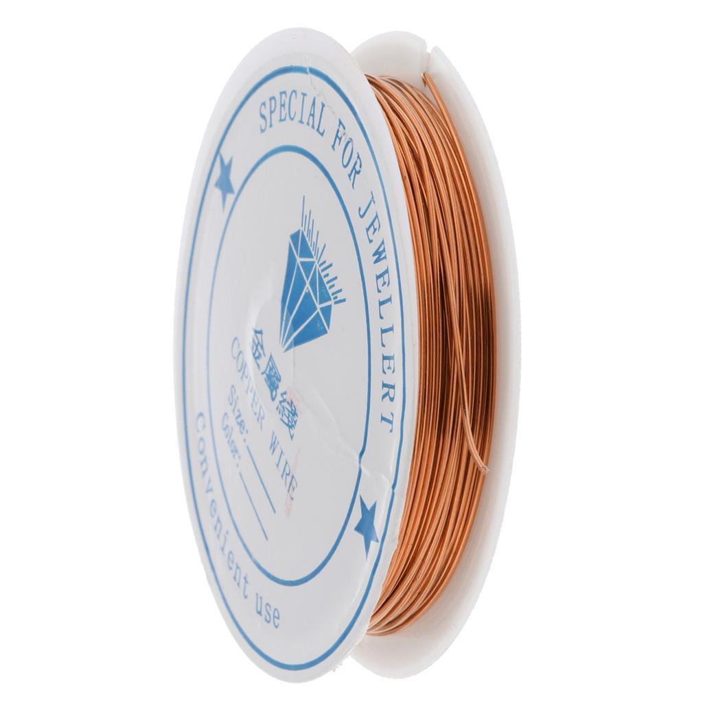 miniature 3 - Fil de cuivre pour la fabrication de bijoux Artisanat bricolage pour le fil