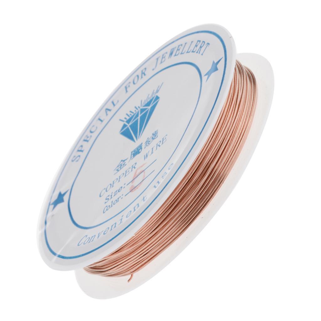 miniature 17 - Fil de cuivre pour la fabrication de bijoux Artisanat bricolage pour le fil