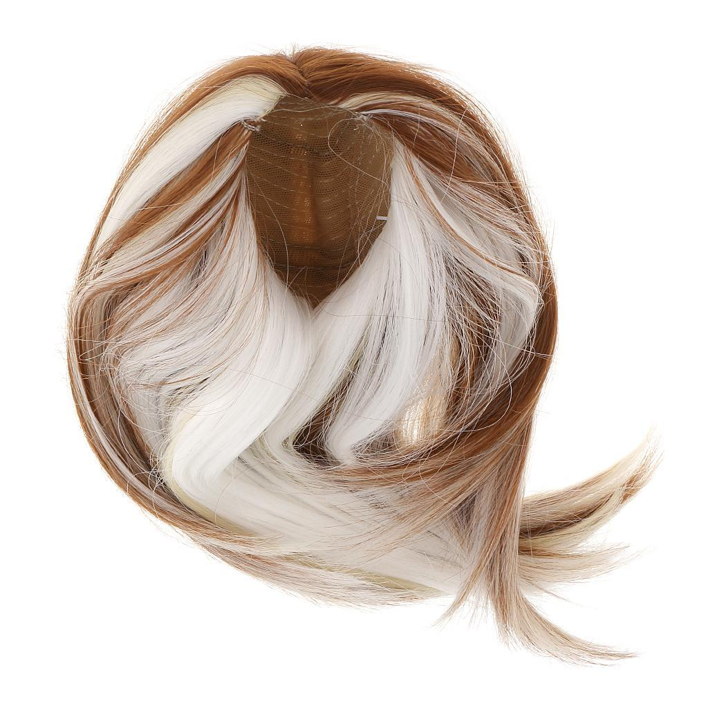 Straight-Wavy-Curly-Hair-Wig-for-18-039-039-Dolls-Clothes-Accessories thumbnail 81