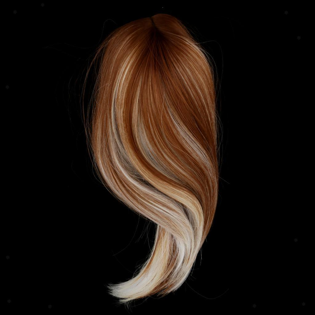 Straight-Gradient-Curly-Hair-Wig-for-18-039-039-Doll-Dress-up-Accessory thumbnail 84