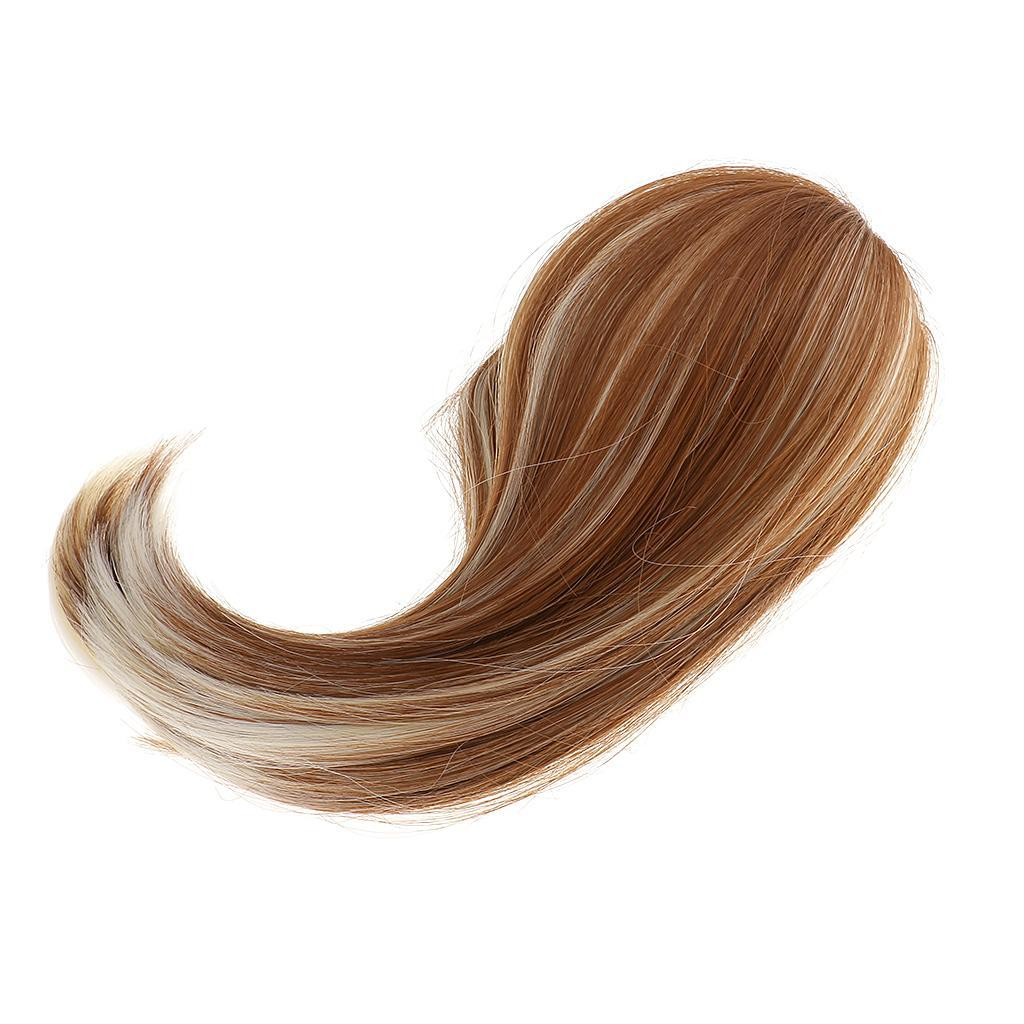 Straight-Gradient-Curly-Hair-Wig-for-18-039-039-Doll-Dress-up-Accessory thumbnail 83