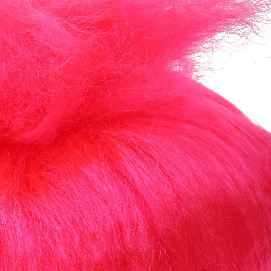 Cute-Flame-Troll-Short-Wig-Cosplay-Party-Costume-Fancy-Dress-Magic-Pixie-Elf-Wig thumbnail 28