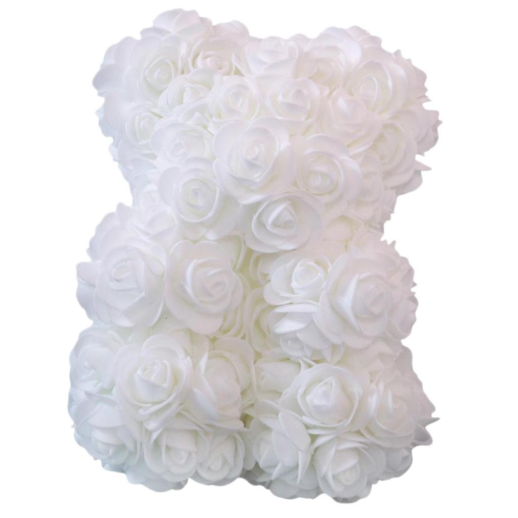 Rose-Bear-Teddy-Bear-Forever-Artificial-Flowers-Anniversary-Valentines-Gifts thumbnail 3