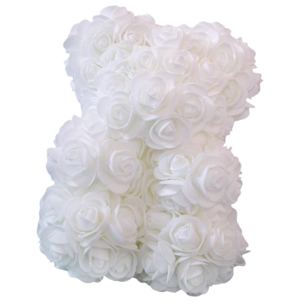 Rose-Bear-Teddy-Bear-Forever-Artificial-Flowers-Anniversary-Valentines-Gifts thumbnail 4