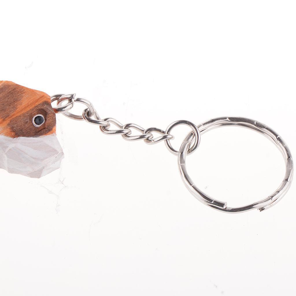 Portachiavi-con-portachiavi-e-accessori-per-auto-in-legno-intagliato miniatura 9