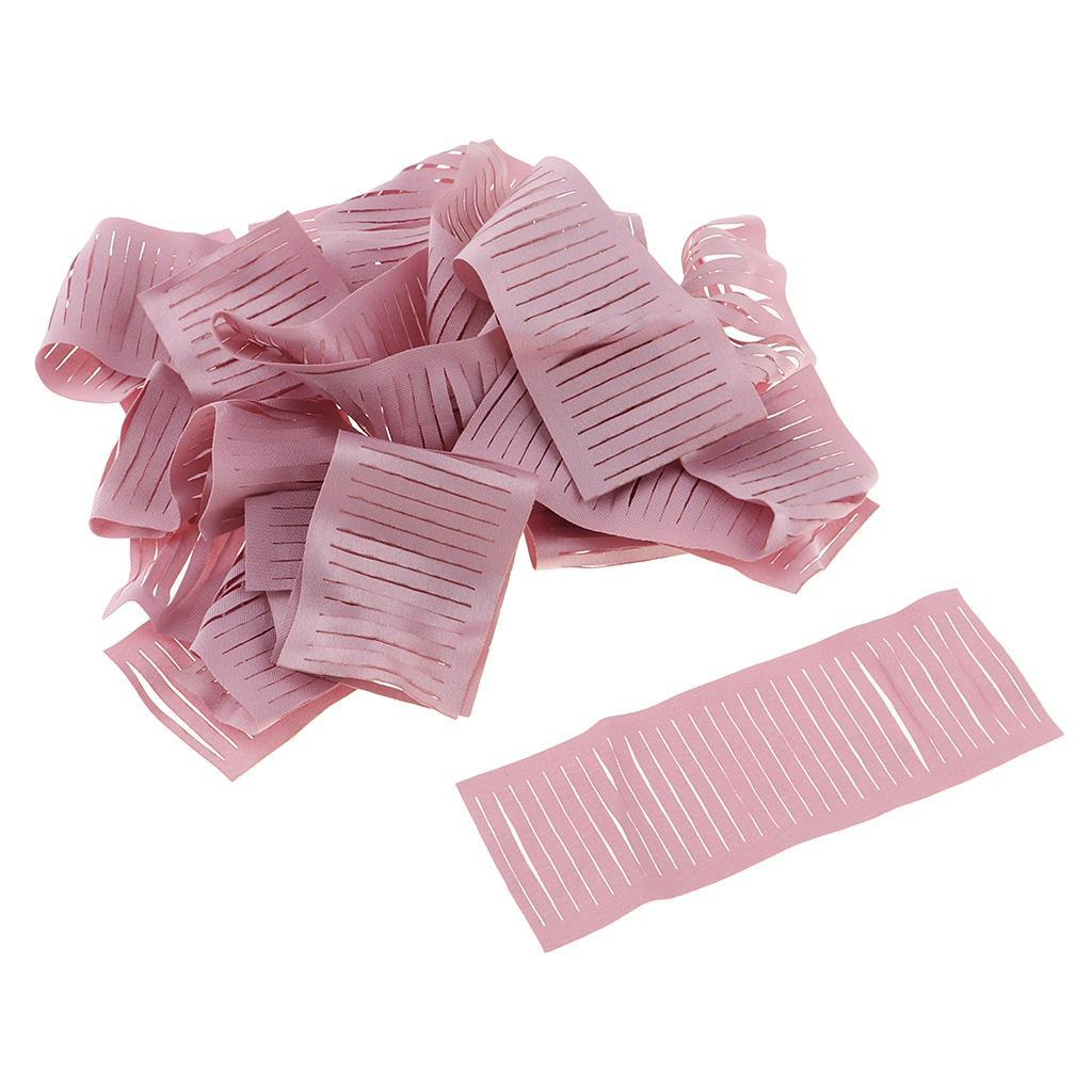 miniatura 12 - 20 pezzi strisce di stoffa banda per fai da te fatti a mano boccioli di