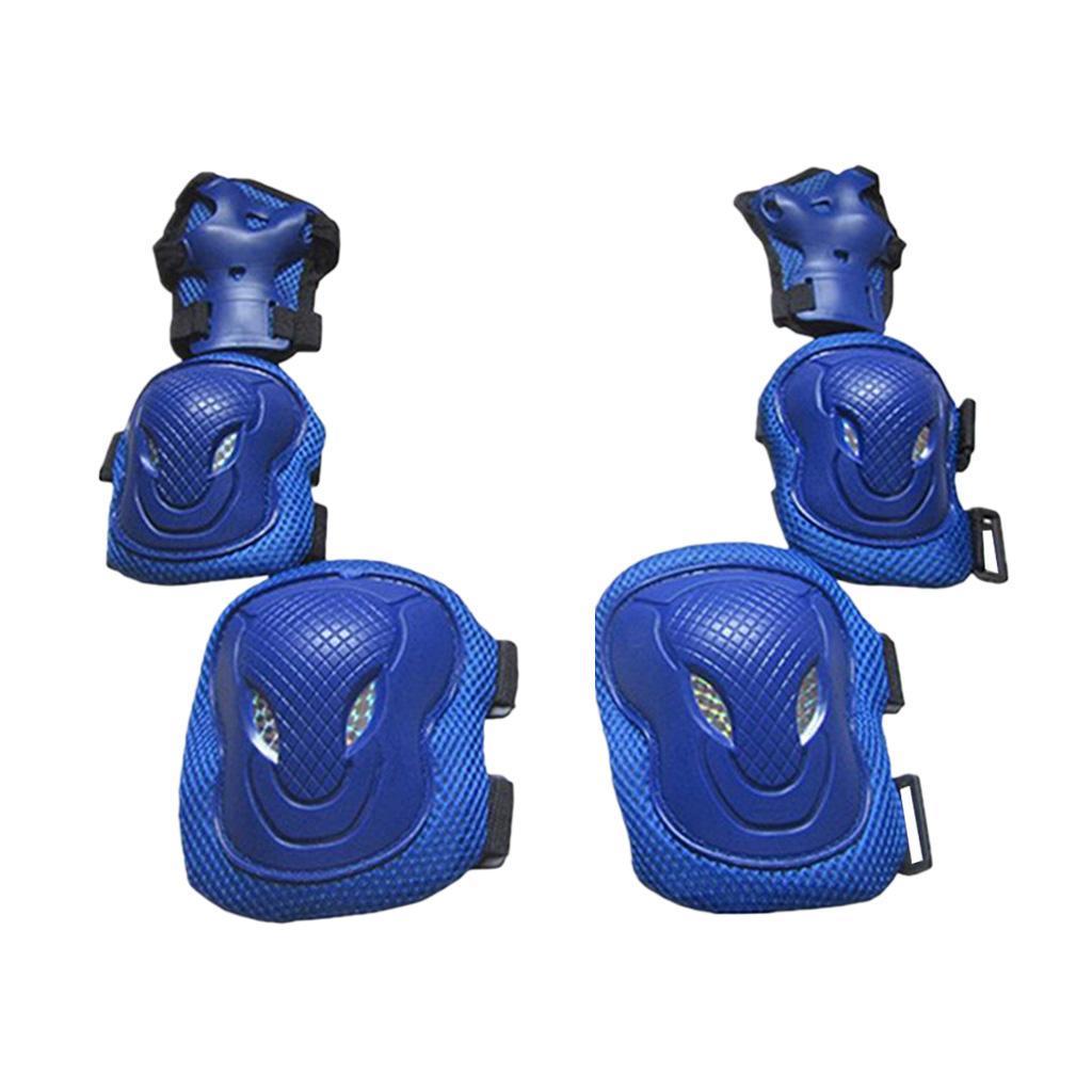 Lovoski-Skating-Protection-Kit-Helmet-Knee-Elbow-Pads-Hand-Safety-Guard-Gear thumbnail 5