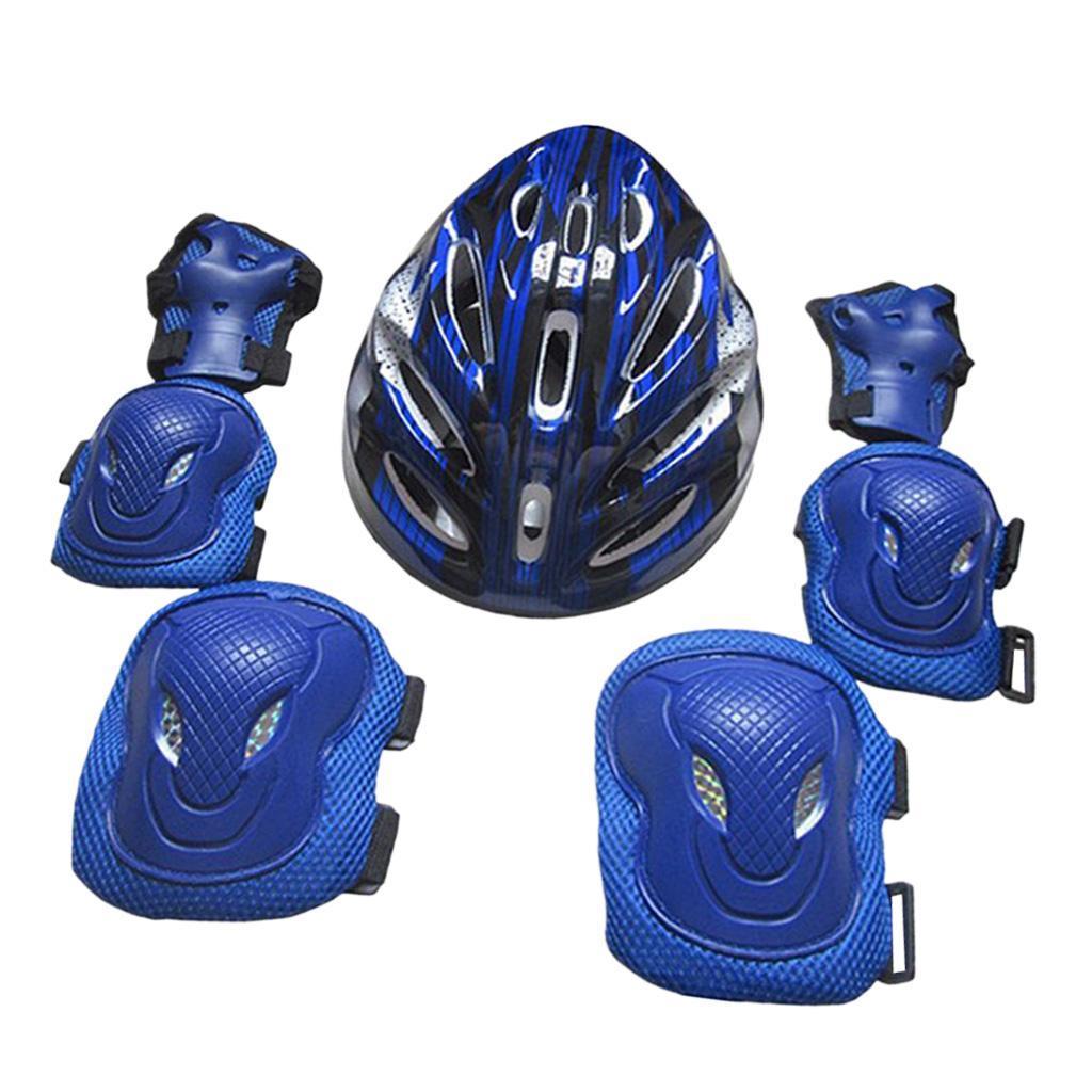 Lovoski-Skating-Protection-Kit-Helmet-Knee-Elbow-Pads-Hand-Safety-Guard-Gear thumbnail 6