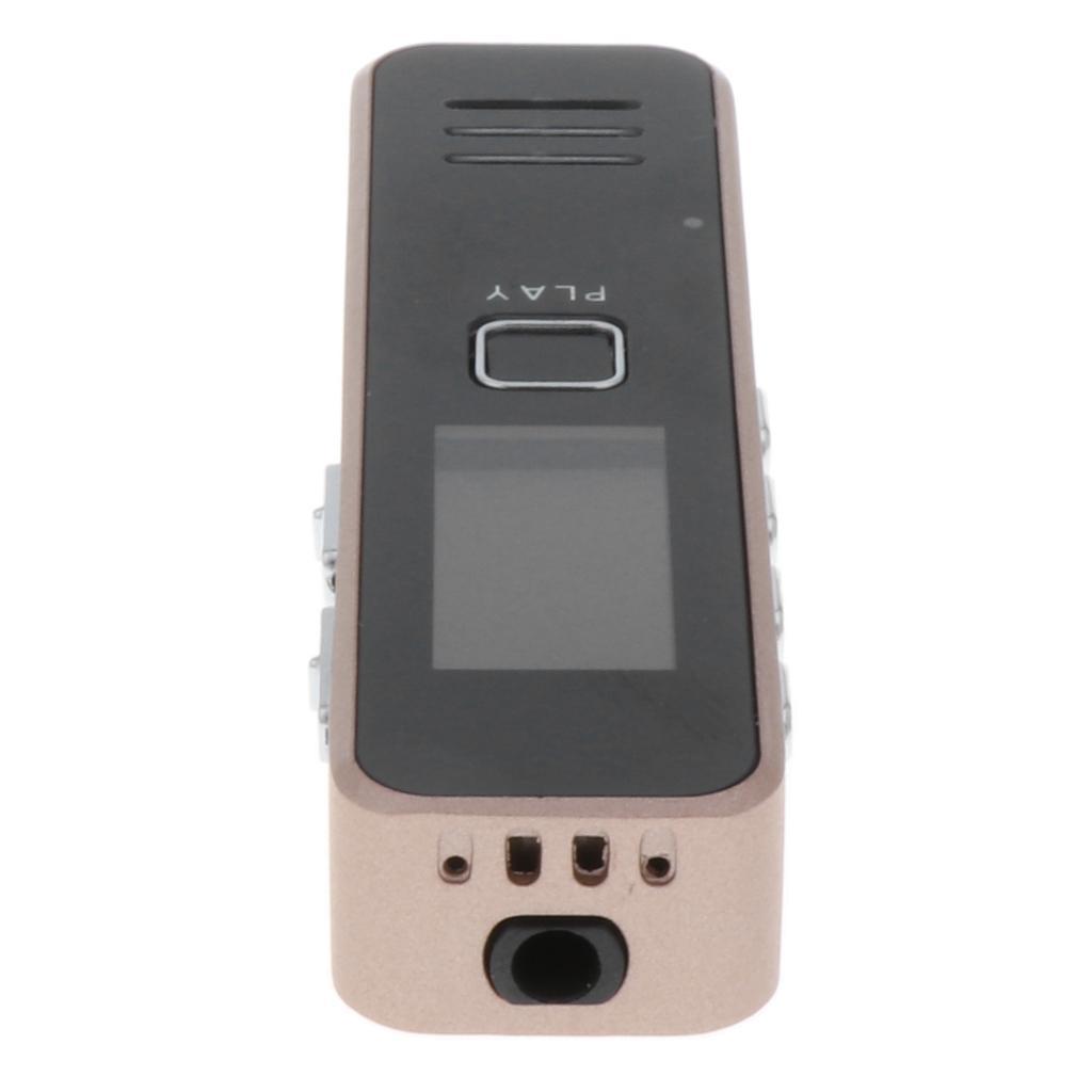Zinc-Alloy-Rechargeable-Digital-Sound-Voice-Recorder-Dictaphone-MP3-Player thumbnail 4