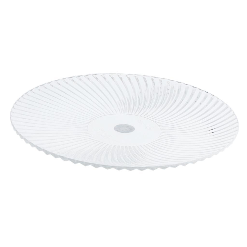 Piatto-Rotondo-Stoviglia-Vassoio-Cucina-Posate-da-Tavola-Play-per-Cibo miniatura 17