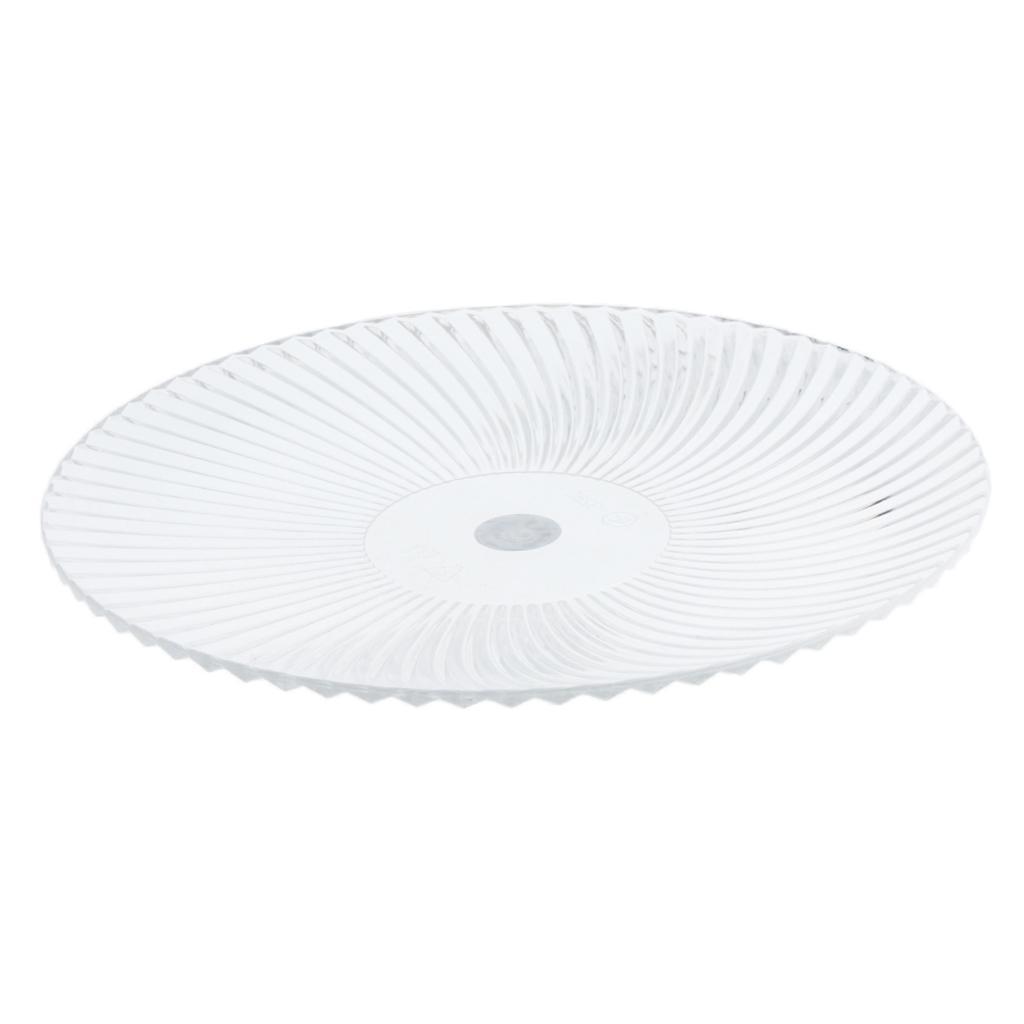 Piatto-Rotondo-Stoviglia-Vassoio-Cucina-Posate-da-Tavola-Play-per-Cibo miniatura 18