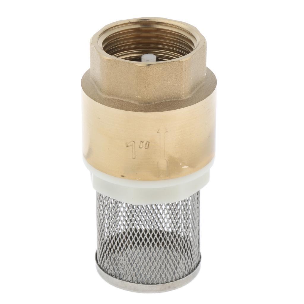 Valvola-Ritegno-A-Rete-Con-Filtro-Water-Valve-Fondo-di-Tubazione miniatura 8