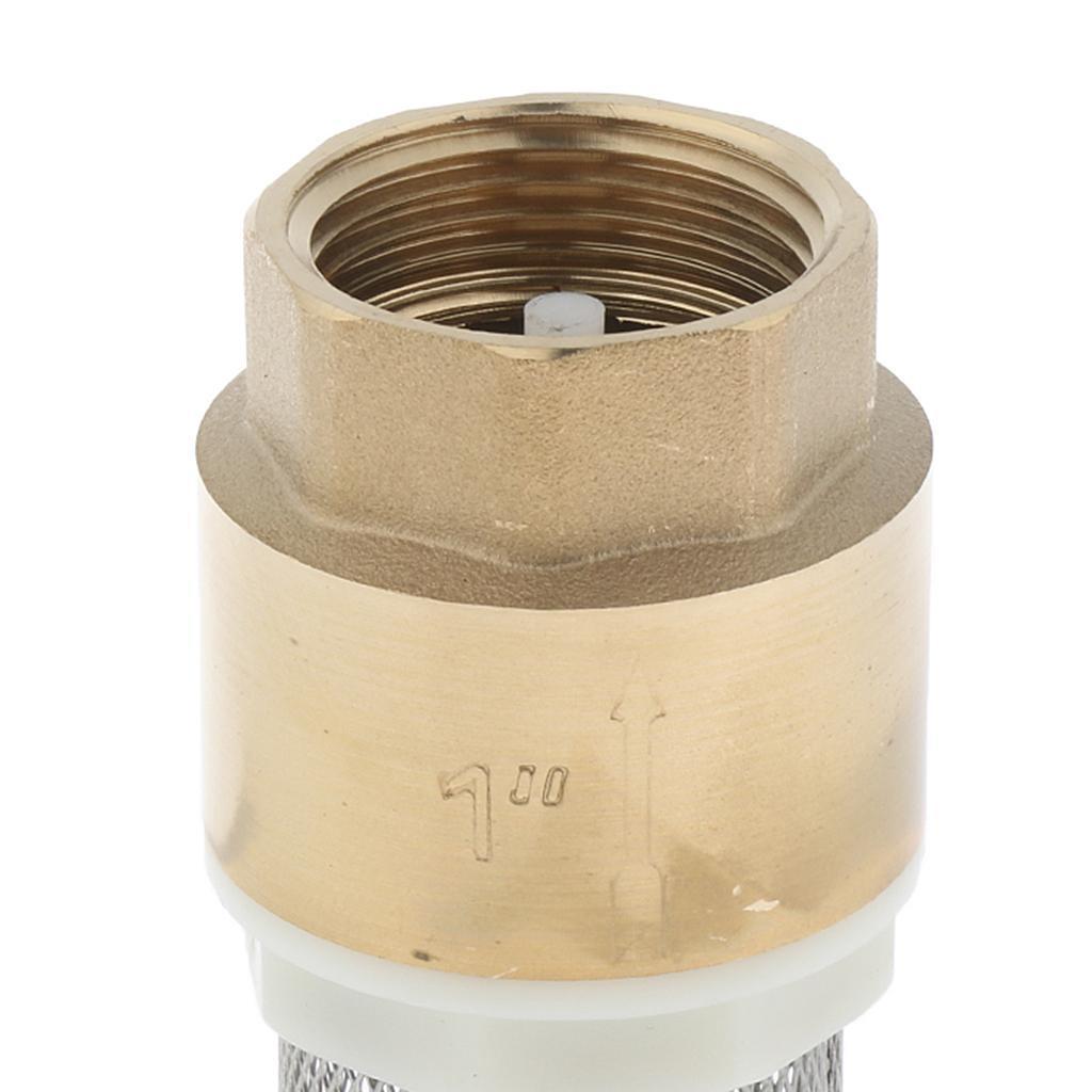 Valvola-Ritegno-A-Rete-Con-Filtro-Water-Valve-Fondo-di-Tubazione miniatura 9