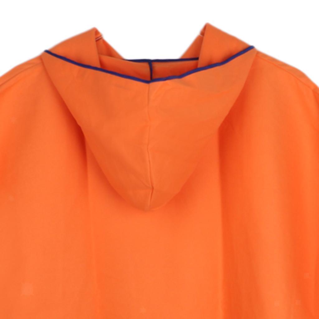 Impermeabile-Poncio-con-Cappuccio-Poncho-Coprizaino-per-Donna-Uomo-Outdoor miniatura 23
