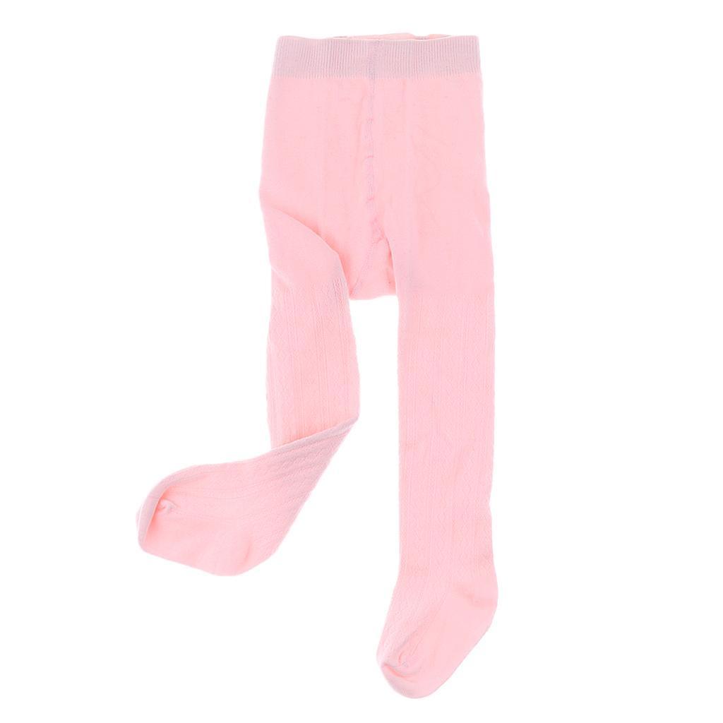 Collants-Bebe-Filles-Hiver-Coton-Tricote-Losange-Elastique-Antiderapant miniature 21