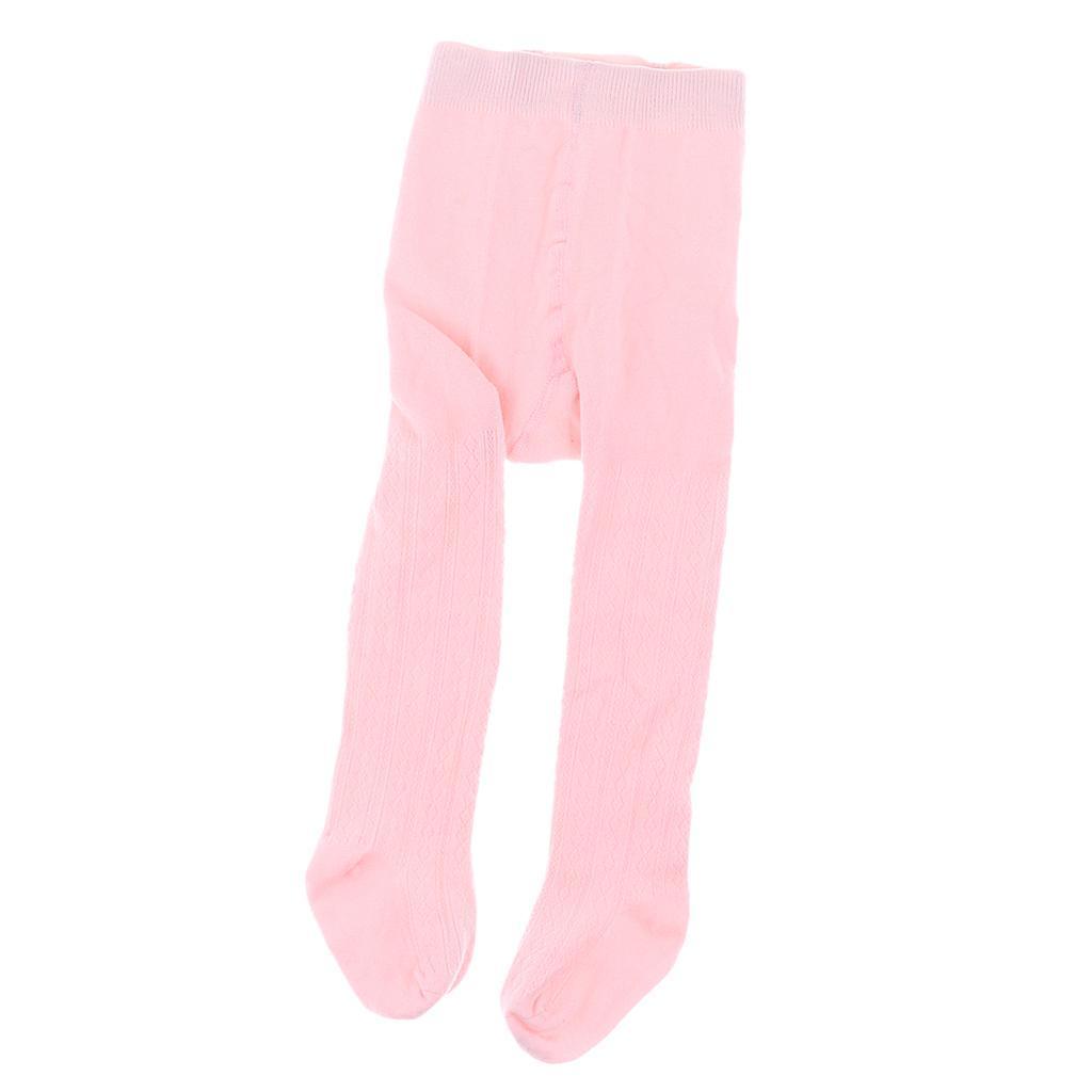 Collants-Bebe-Filles-Hiver-Coton-Tricote-Losange-Elastique-Antiderapant miniature 23