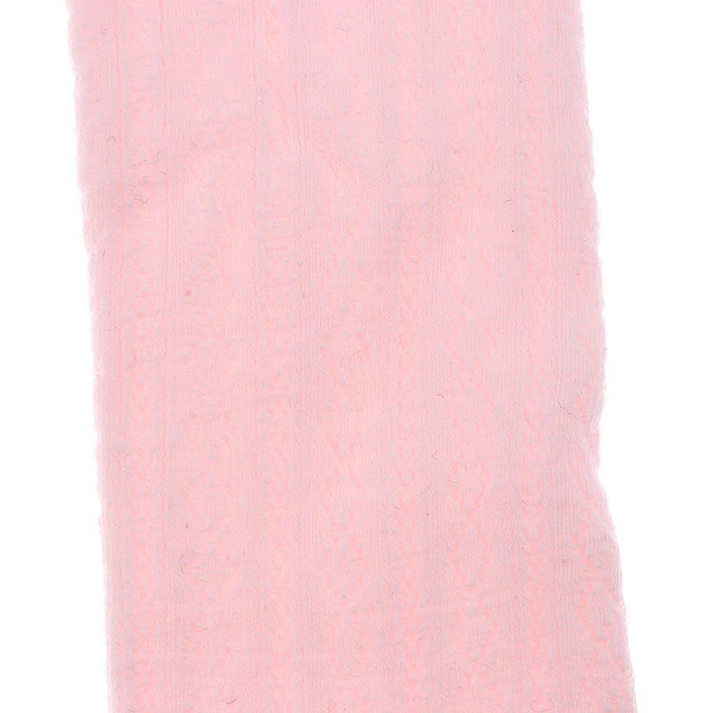 Collants-Bebe-Filles-Hiver-Coton-Tricote-Losange-Elastique-Antiderapant miniature 24