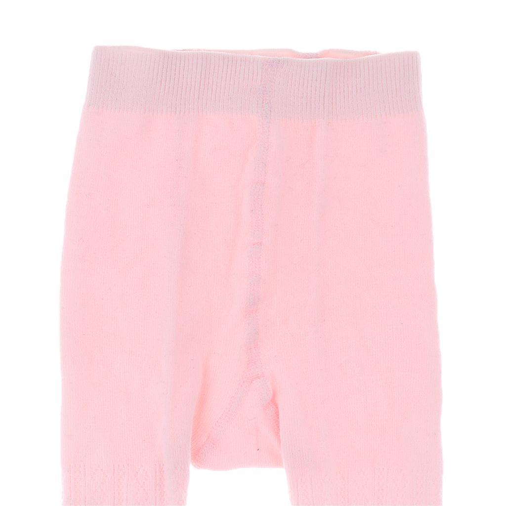Bebe-Fille-Hiver-Chaud-Losange-Collants-Extensible-Coton miniature 25