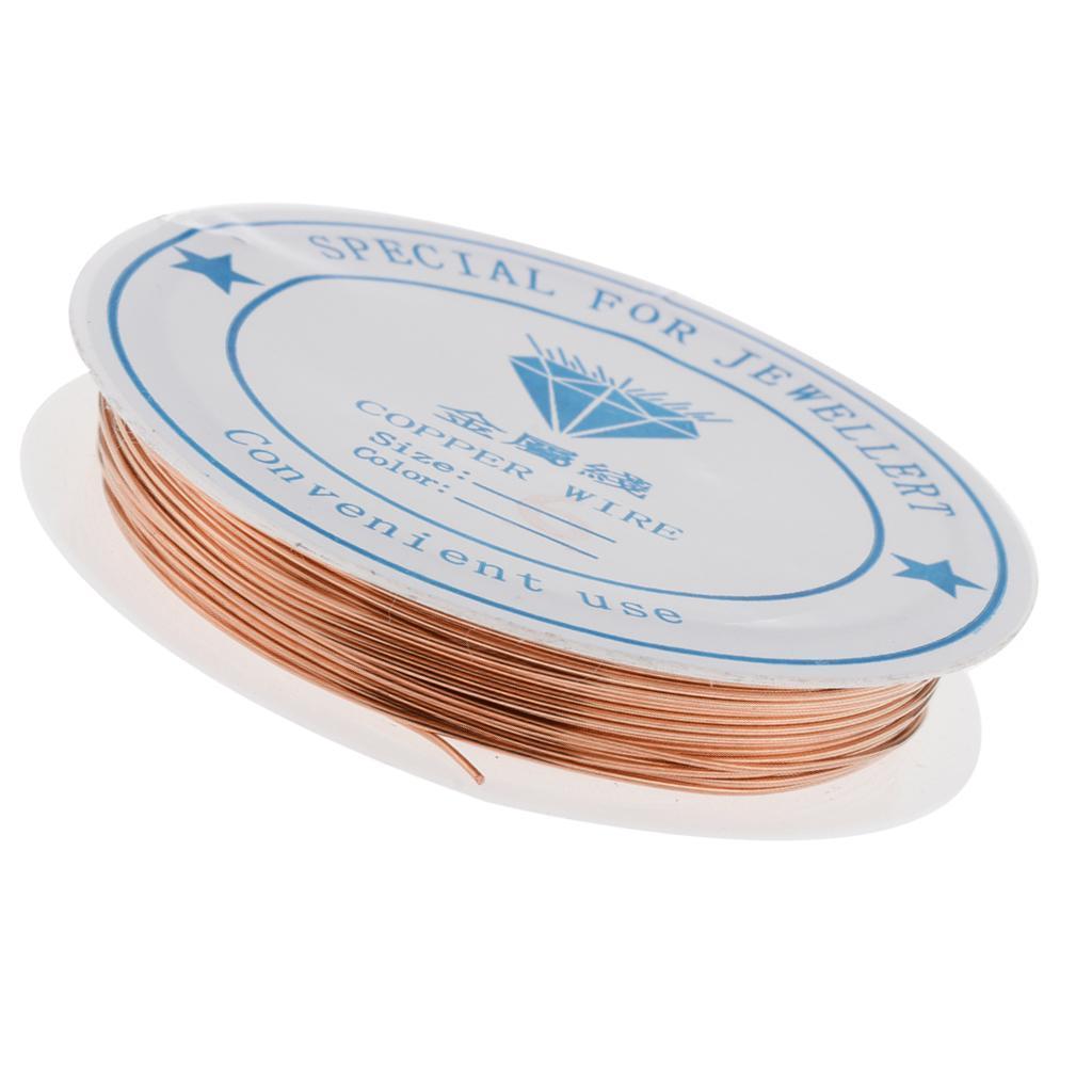 miniature 21 - Fil de cuivre pour la fabrication de bijoux Artisanat bricolage pour le fil