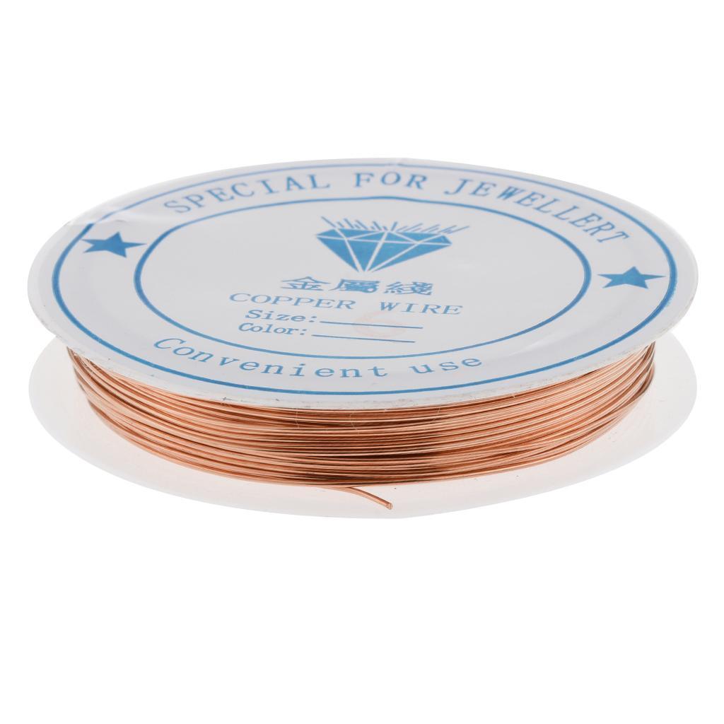 miniature 22 - Fil de cuivre pour la fabrication de bijoux Artisanat bricolage pour le fil