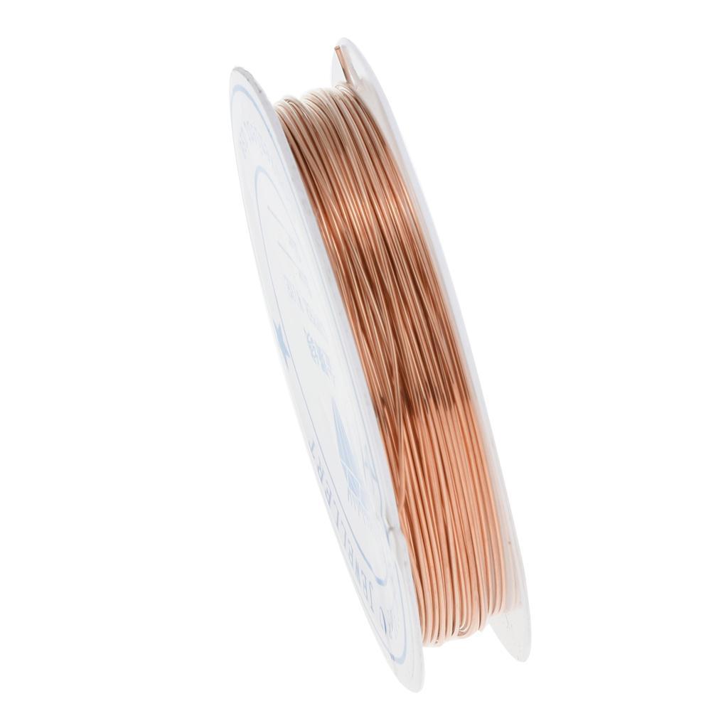 miniature 23 - Fil de cuivre pour la fabrication de bijoux Artisanat bricolage pour le fil