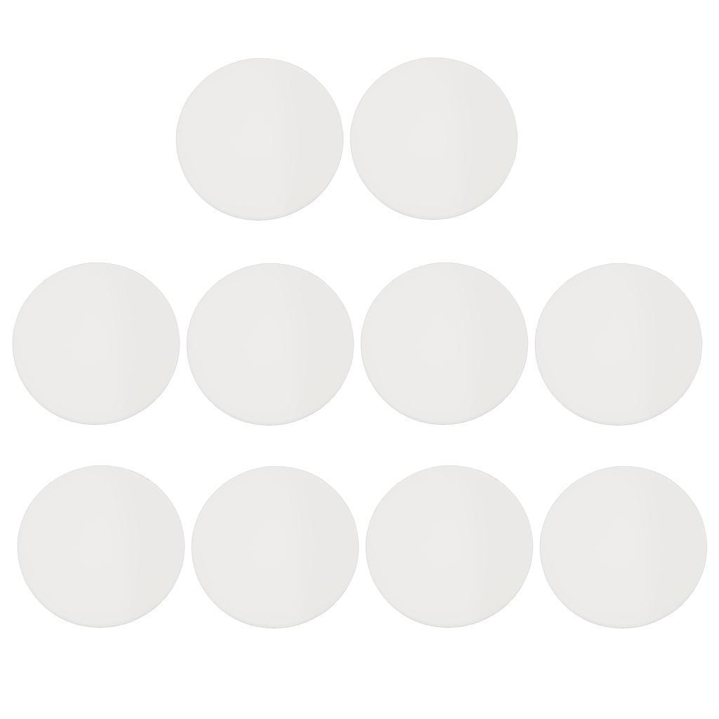 10-Pezzi-1mm-Di-Vetro-Minerale-Di-Spessore-Piatto-Per-Sostituire-Parti miniatura 8