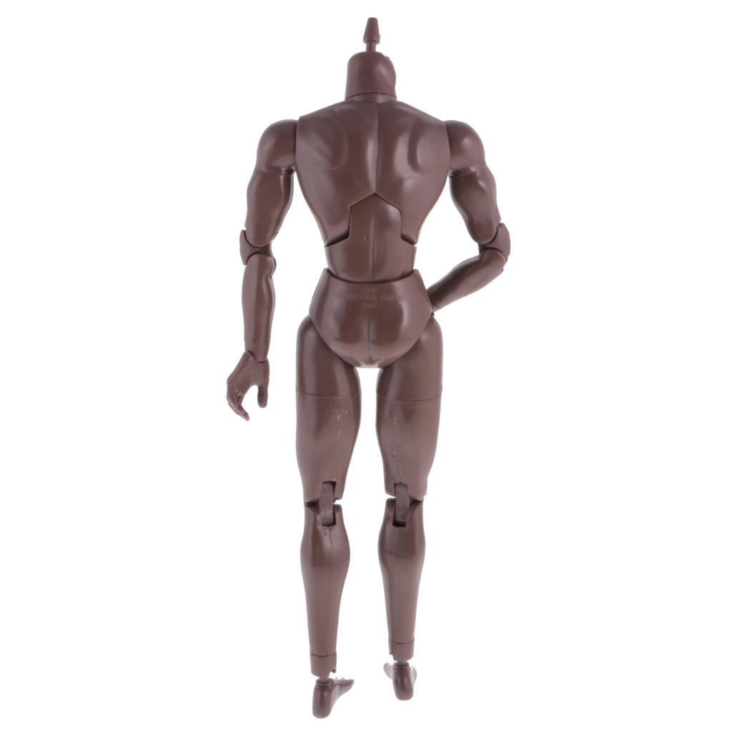 1-6th-Action-Figure-Muscular-Muscle-Male-Nude-Body-for-Hot-Toys-TTM18-TTM19-Head thumbnail 5