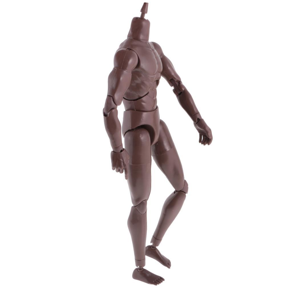 1-6th-Action-Figure-Muscular-Muscle-Male-Nude-Body-for-Hot-Toys-TTM18-TTM19-Head thumbnail 3