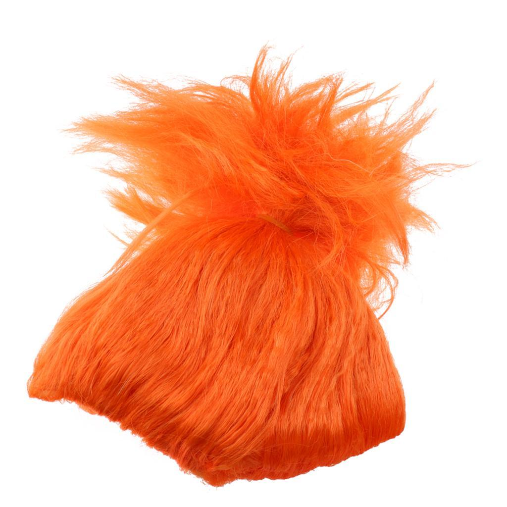 Cute-Flame-Troll-Short-Wig-Cosplay-Party-Costume-Fancy-Dress-Magic-Pixie-Elf-Wig thumbnail 33