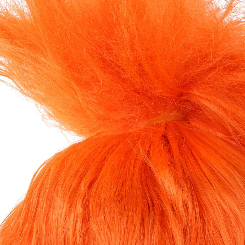 Cute-Flame-Troll-Short-Wig-Cosplay-Party-Costume-Fancy-Dress-Magic-Pixie-Elf-Wig thumbnail 32
