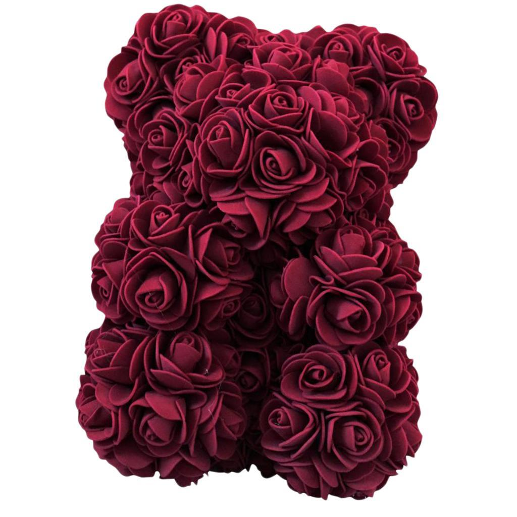 Rose-Bear-Teddy-Bear-Forever-Artificial-Flowers-Anniversary-Valentines-Gifts thumbnail 36