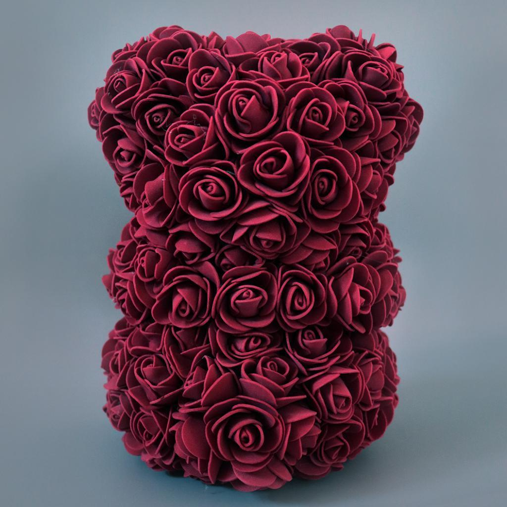 Rose-Bear-Teddy-Bear-Forever-Artificial-Flowers-Anniversary-Valentines-Gifts thumbnail 38