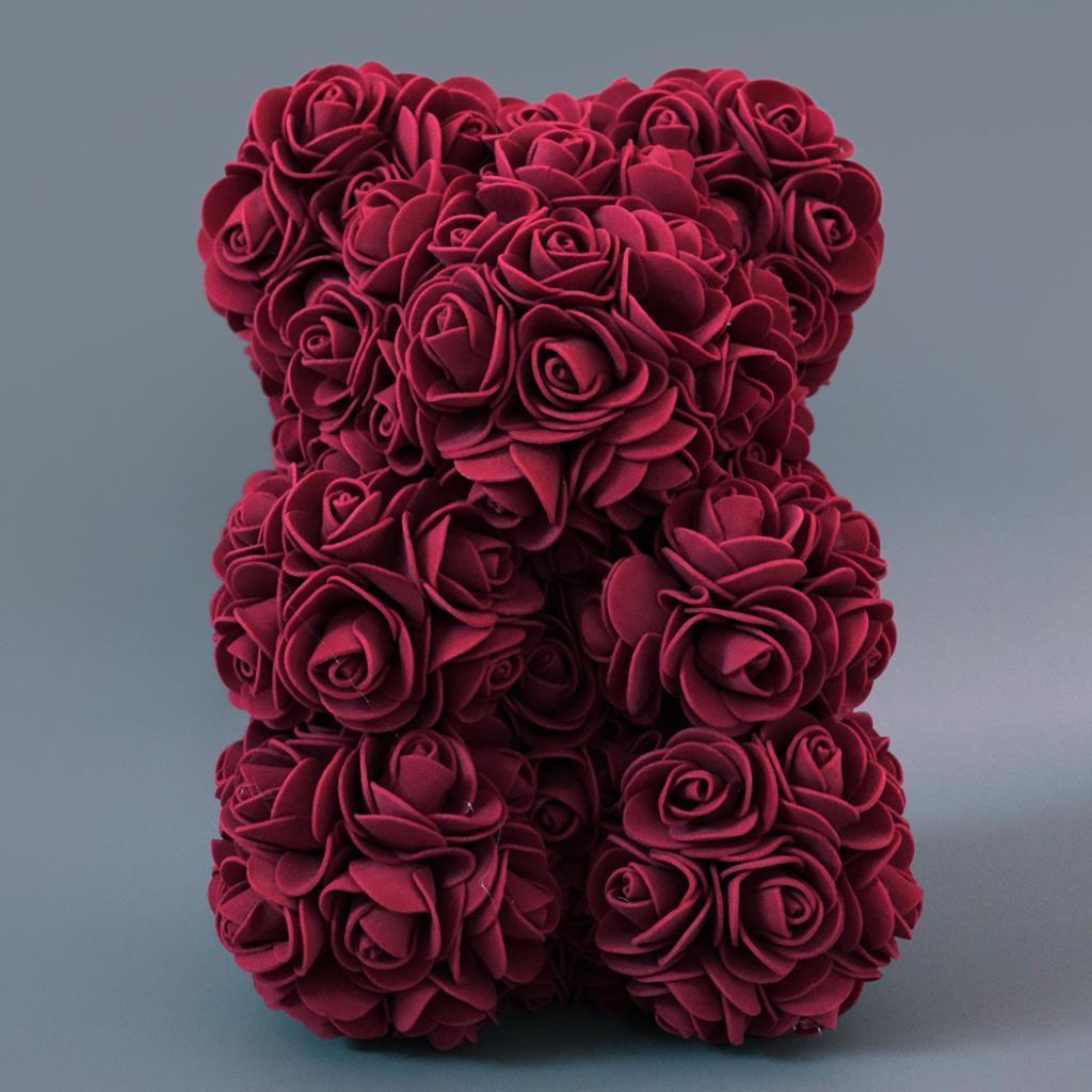 Rose-Bear-Teddy-Bear-Forever-Artificial-Flowers-Anniversary-Valentines-Gifts thumbnail 40