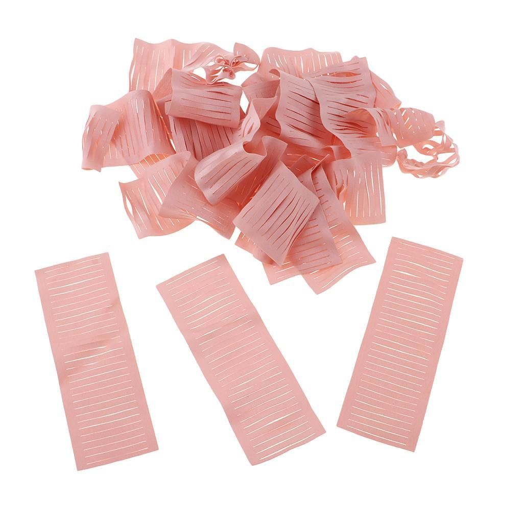 miniatura 16 - 20 pezzi strisce di stoffa banda per fai da te fatti a mano boccioli di
