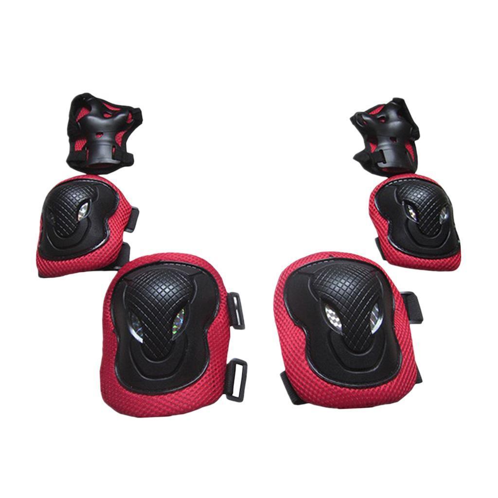 Lovoski-Skating-Protection-Kit-Helmet-Knee-Elbow-Pads-Hand-Safety-Guard-Gear thumbnail 8