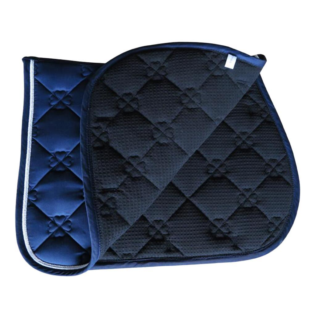 Jumping-Event-Shock-Absorbing-English-Horse-Saddle-Pads-Saddlecloths-69x52cm miniature 3