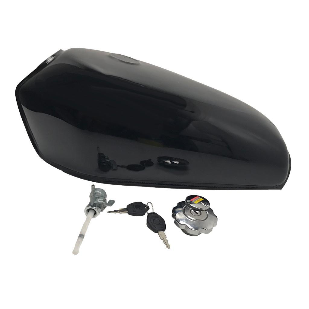 Durable Motorcycle Fuel Gas Tank 9l 2 4 Gallon Cafe Racer