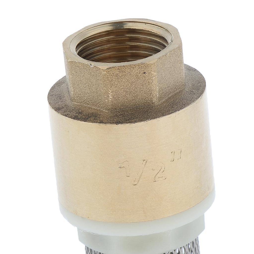 Valvola-Ritegno-A-Rete-Con-Filtro-Water-Valve-Fondo-di-Tubazione miniatura 12