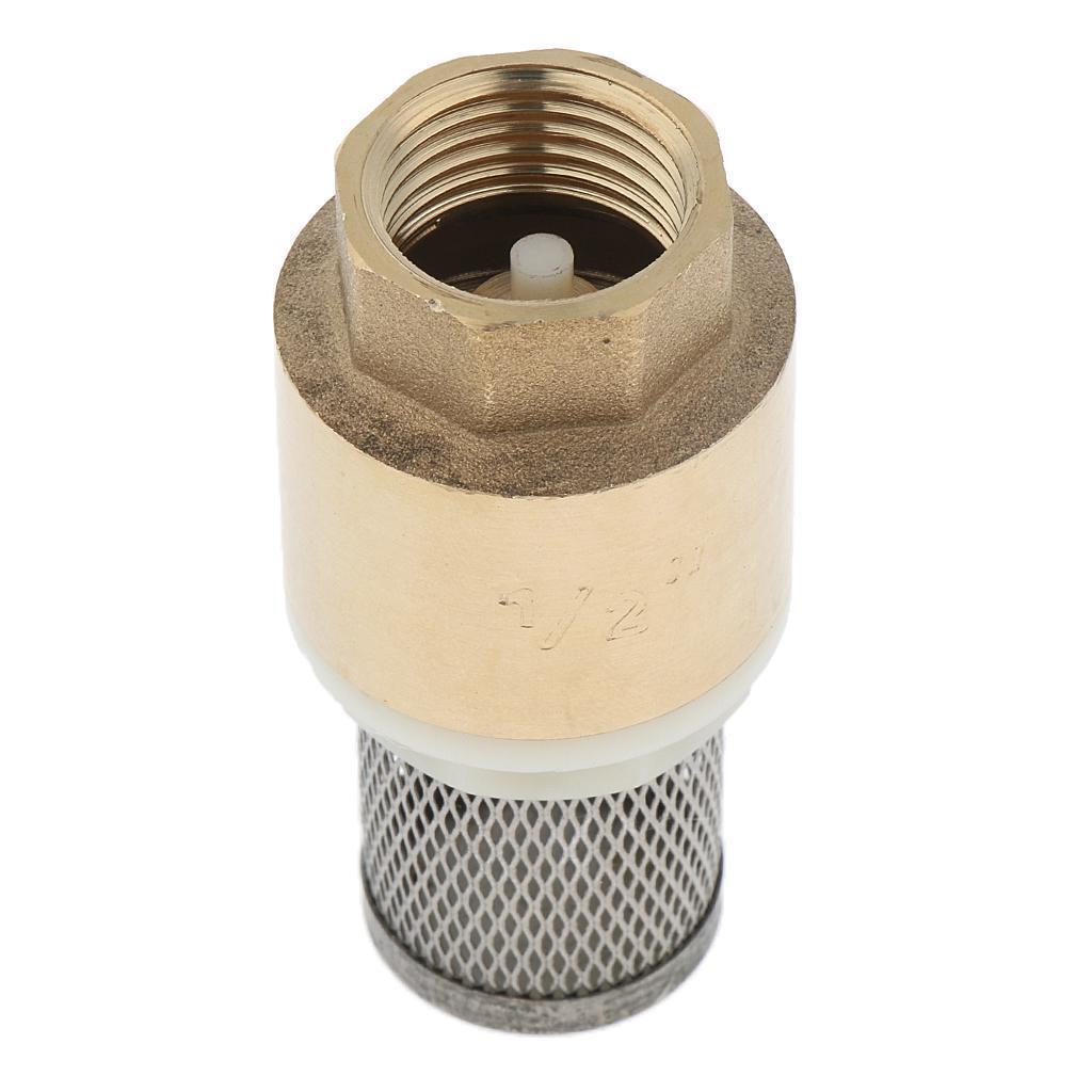 Valvola-Ritegno-A-Rete-Con-Filtro-Water-Valve-Fondo-di-Tubazione miniatura 13