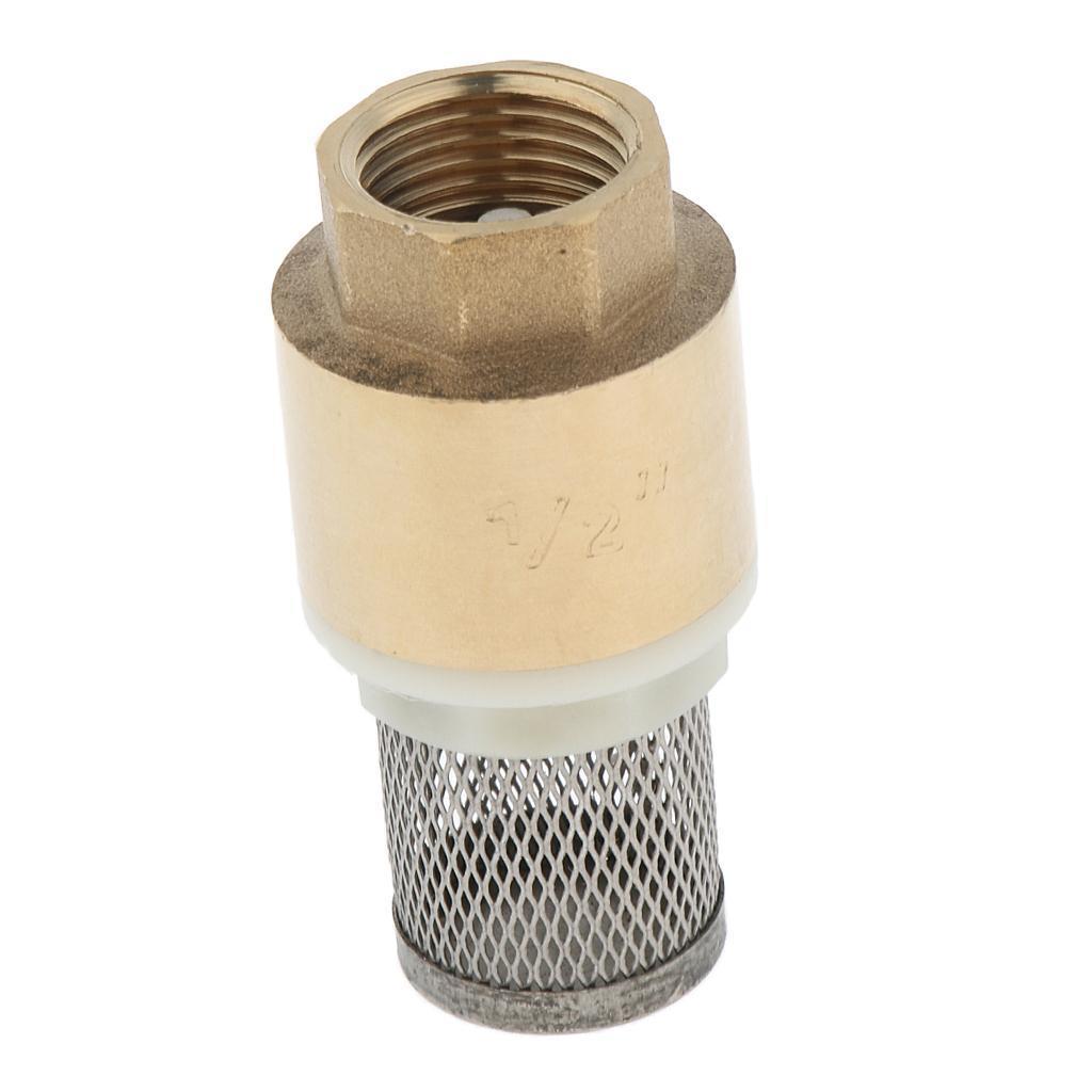 Valvola-Ritegno-A-Rete-Con-Filtro-Water-Valve-Fondo-di-Tubazione miniatura 14