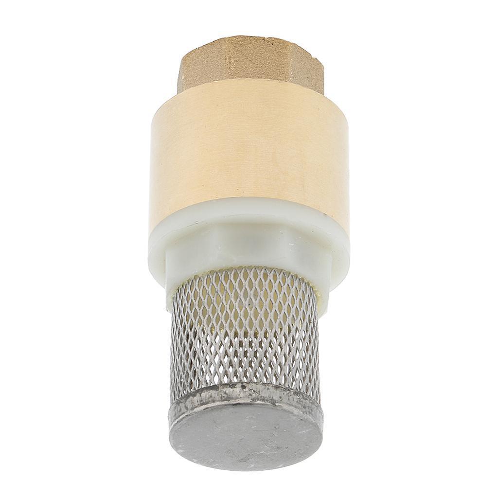 Valvola-Ritegno-A-Rete-Con-Filtro-Water-Valve-Fondo-di-Tubazione miniatura 15