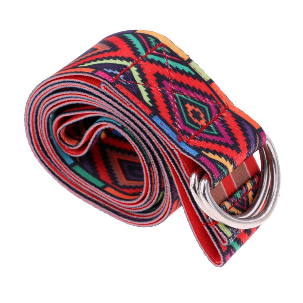 miniatura 7 - Anillo D yoga Stretch cinturón 72 Inch funda resistente fitness desodorantes