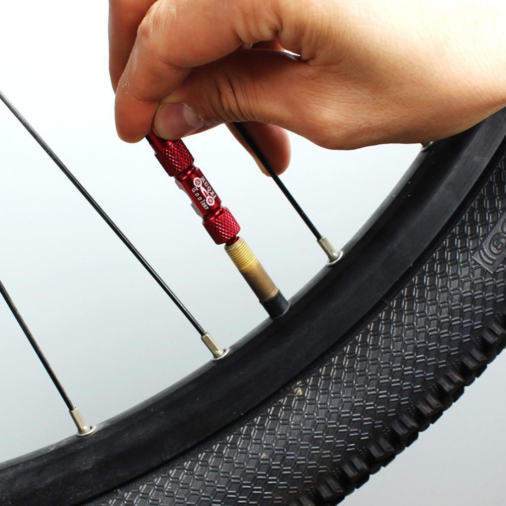 Schrader Tire Valve Core Removal Tool Valve Core Remover 2Pcs Bike Presta