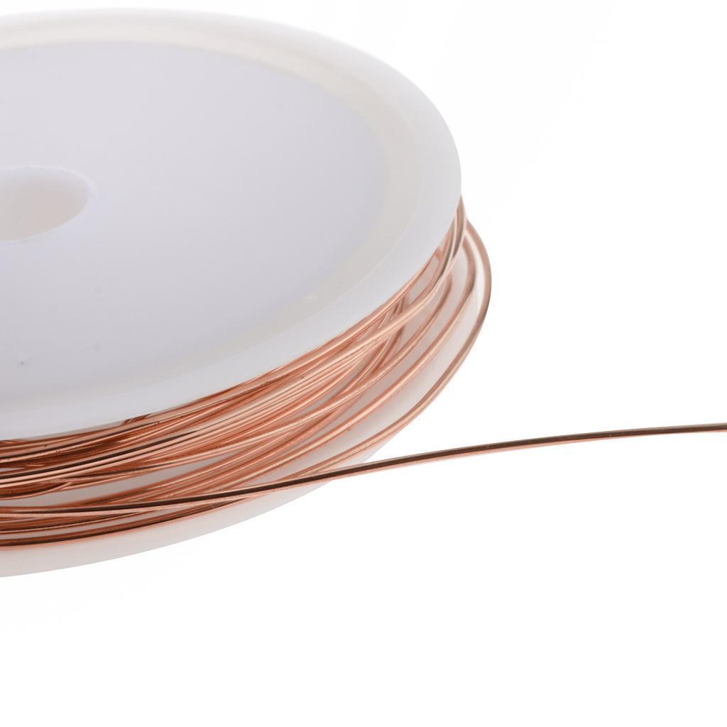 miniature 25 - Fil de cuivre pour la fabrication de bijoux Artisanat bricolage pour le fil