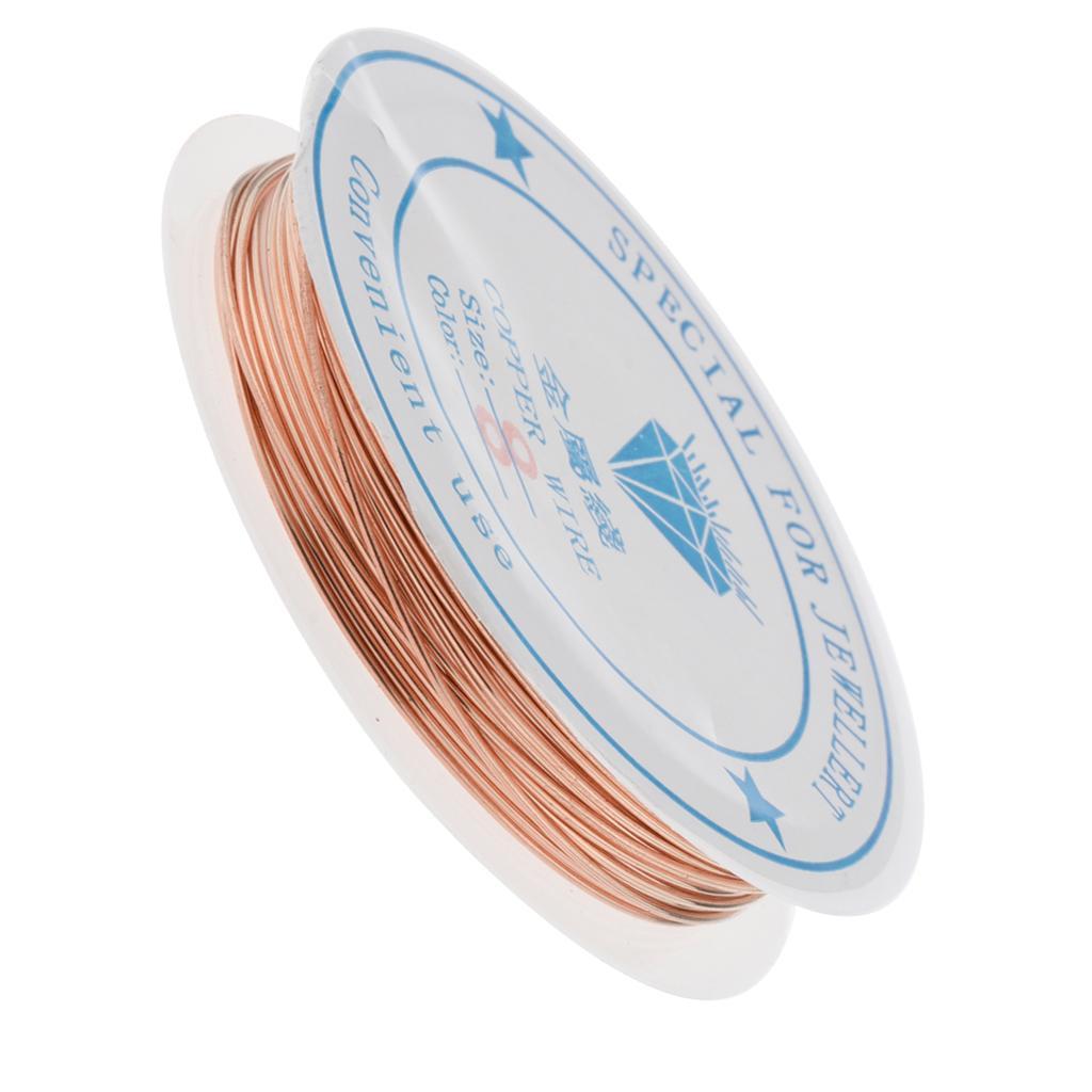 miniature 27 - Fil de cuivre pour la fabrication de bijoux Artisanat bricolage pour le fil