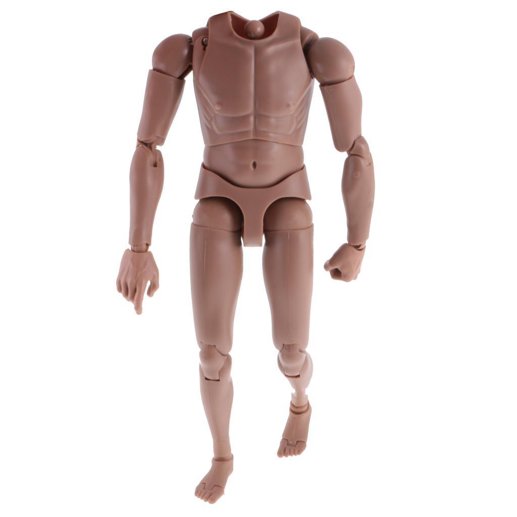 1-6th-Action-Figure-Muscular-Muscle-Male-Nude-Body-for-Hot-Toys-TTM18-TTM19-Head thumbnail 23